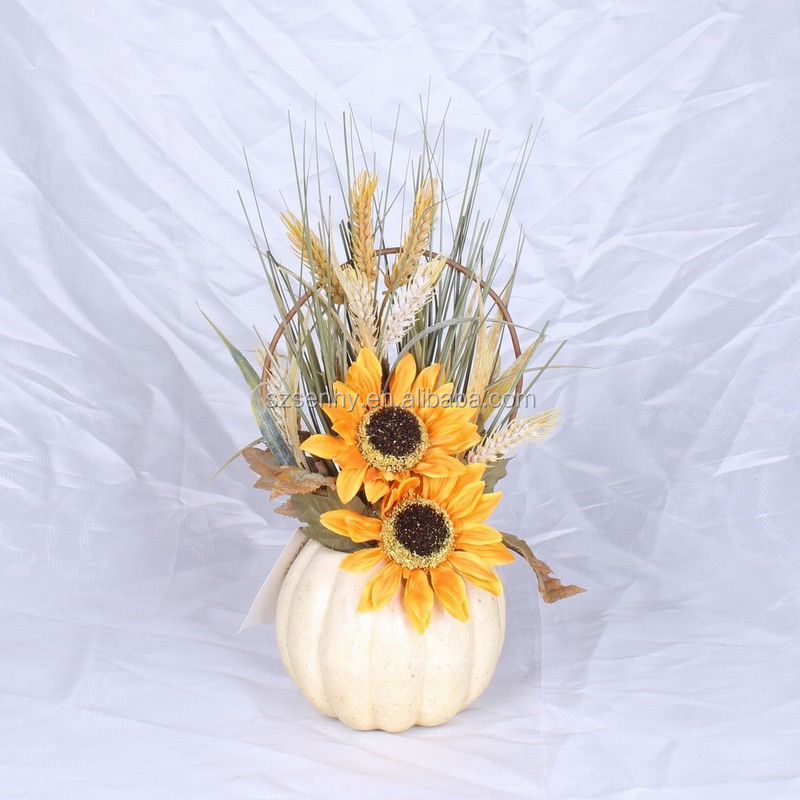 2016 White Foam Craft Pumpkins with Wonderful Design