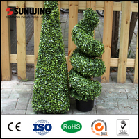 outdoor decorative artificial palm tree leaves fence