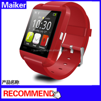 Maiker hot saling smartphone u8 bluetooth smart wrist watch phone mate,u8 watch mtk6260 cheapest