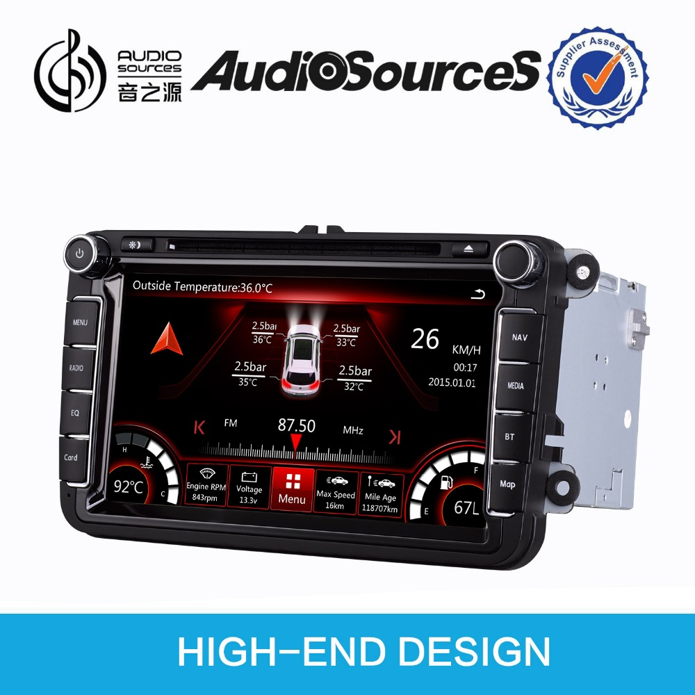 car audio system for VW Passat Polo Golf CAR DVD bluetooth HD video 1080p SD USB phonebook