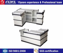 Widely Used supermarket design shop cashier counter table