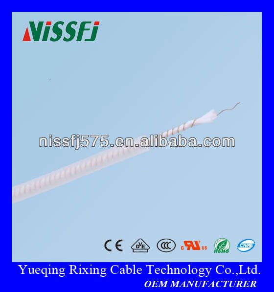 UL/ROHS approved silicone rubber coated heating wire UL3323 used for defrosting freezers or frost prevention