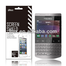 Factory Price Mobile screen protector for Blackberry porsche design oem/odm (High Clear)