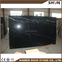 Chinese Black Nero Marquina Spain Marble Big Slab Marble