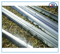 Heibei China Galvanized Y type star fence post/steel fence pole