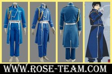 Sunshine-Fullmetal Alchemist Roy Mustang army uniform Manga Amime Cosplay Costume halloween Christmas Party