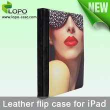 Manufacturer sell blank sublimation leather cover for ipad air 2