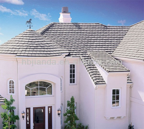 Colored 3-tab asphalt shingles wholesale