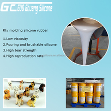 Free sample Mold making rtv2 silicone rubber for resin polyurethane products