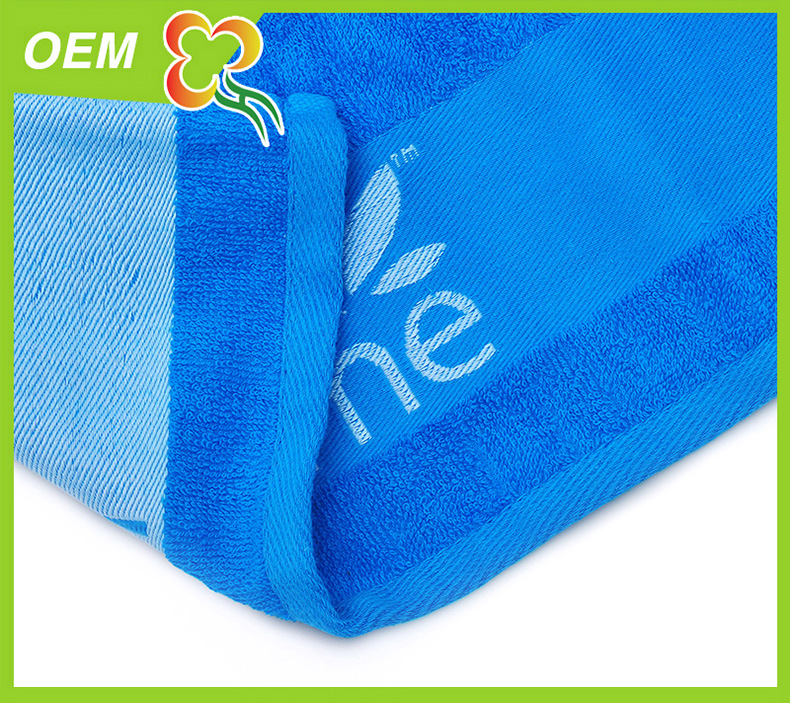 high quality stain jacquard towel set for promotion