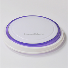 custom Acrylic round plastic enclosure for electronic device lamp