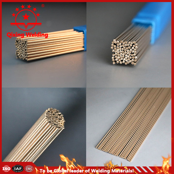 Cu Zn brazing alloys lead free solder welding wire rod price per kg