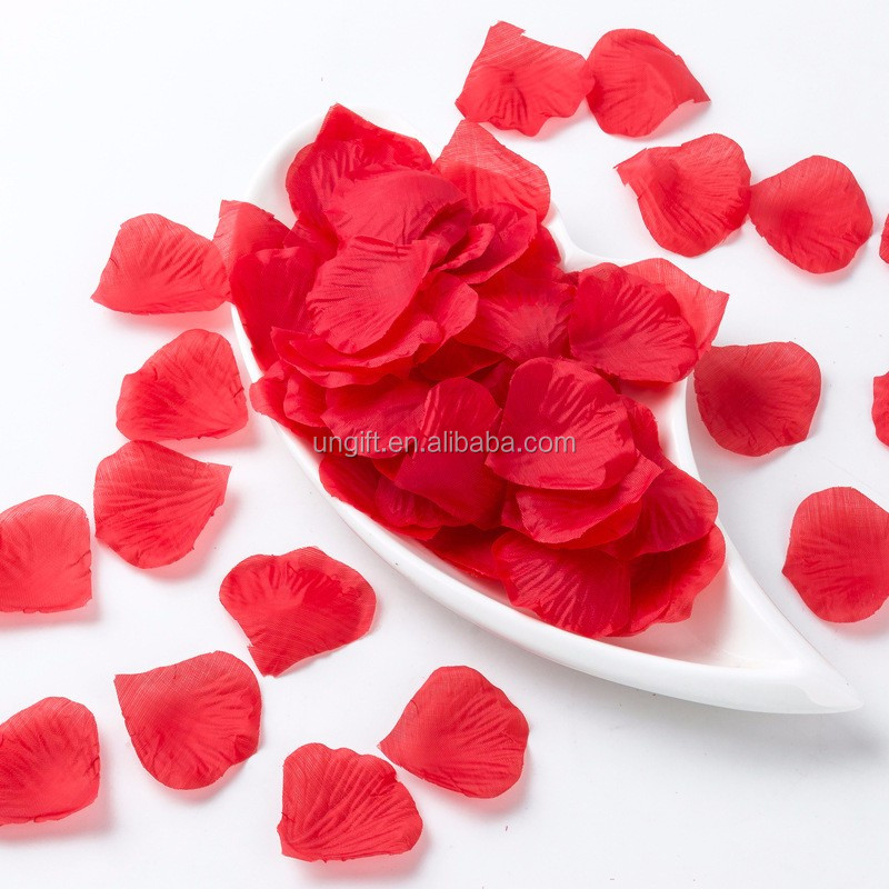Artificial Flowers Rose Petal Sweet Valentines Day flower Wedding Festival Birthday Layout Petal