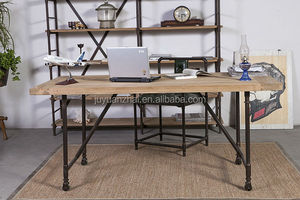 a simple industrial desk metal furniture
