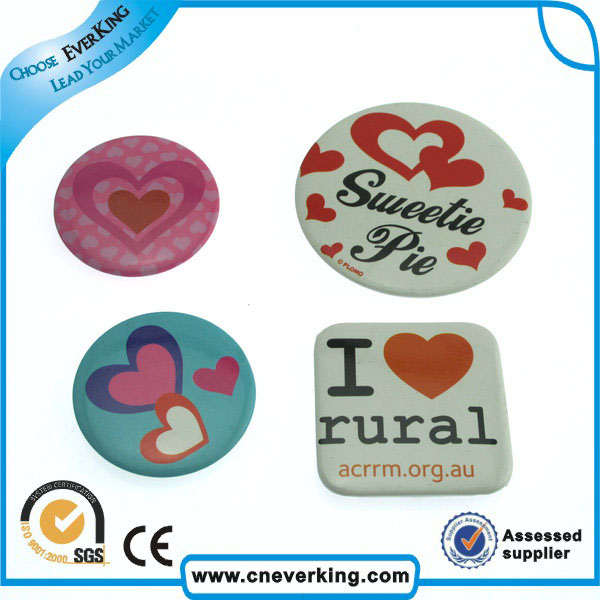 factory plastic button badge making machine magnet