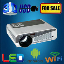 Leeman LED-86+ WIFI 4000 lumens New upgraded android 4.2.2 full HD 1080p full hd 3d led projector 4000 ansi lumens