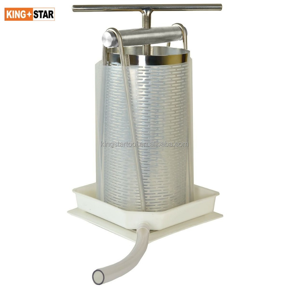 Tabletop Stainless Apple Wine Press