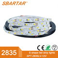 2835 led strip 2 years warranty high brightness led rope light factory price 300led/roll