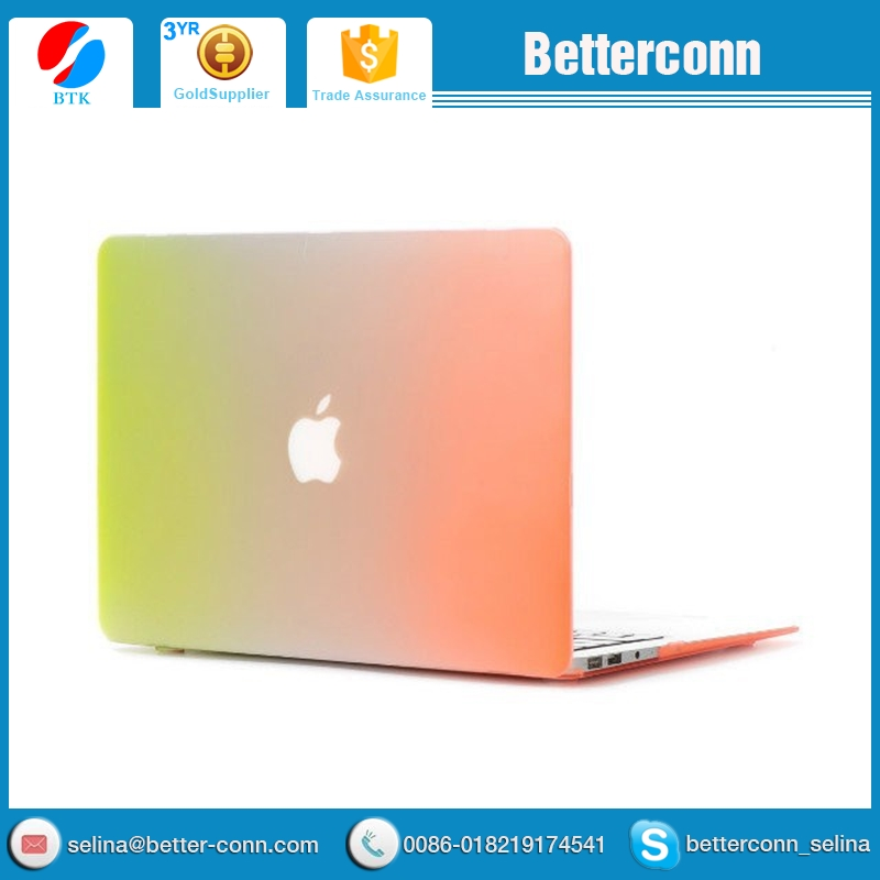 For macbook air case,rainbow PC laptop case for macbook air