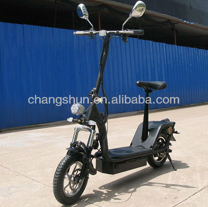 2013 New Model 350W electric scooter for adults with Brushless Motor
