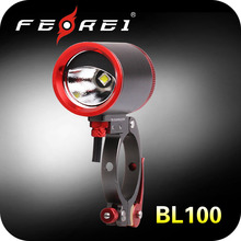 BL100 Aluminum Alloy body Cree LED rechargeable bicycle light bike light