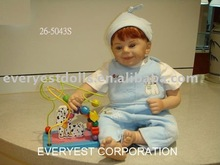 26 inch silicon vinyl baby boy dolls