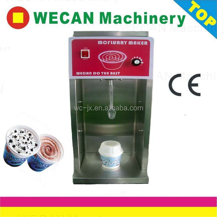 High quality WECAN201 Mcflurry machine Commercial yonanas ice cream maker for sale