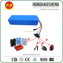 Shenzhen factory 48v 20a electric scooter battery for digital products