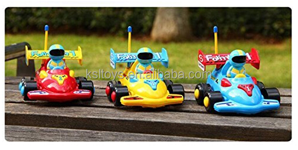 Cartoon Remote control Formula 1Car R/C Toy for Toddlers (Assorted Colors)