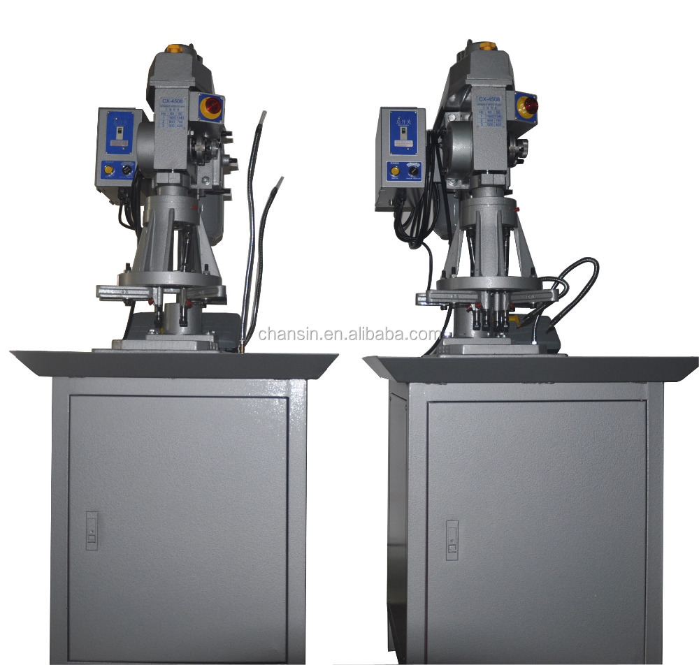 CX-4508 high speed multi spindle pipe nipple threading machine / automatic pipe threading machine / rubber tapping machine
