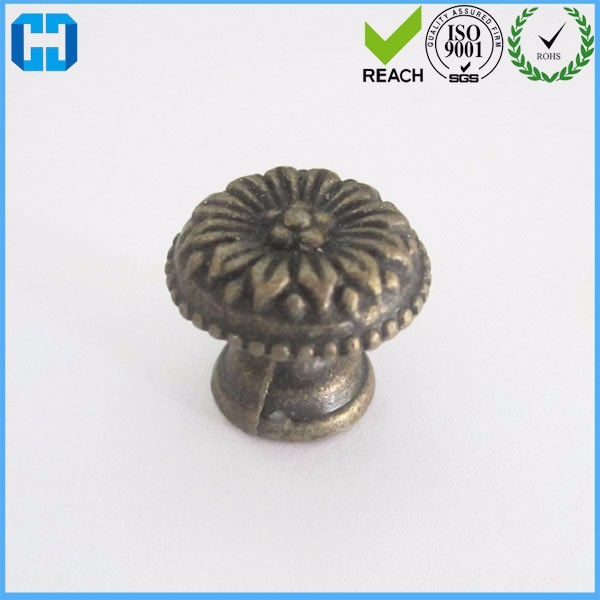 Wholesale Wooden Box Alloy Pull Handle Knobs Cabinet Door Handle