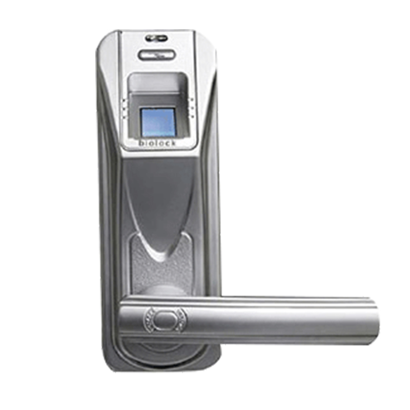 Super master Remote Control fingerprint scanning handle door lock (HF-LA901)