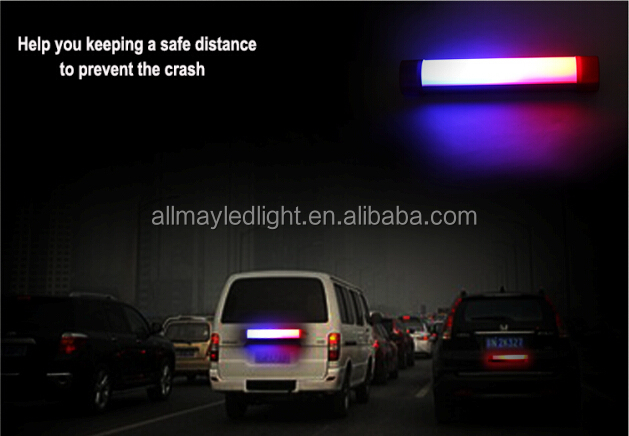 Portable security car strobe light warning led tube light emergency rechargeable car security lights