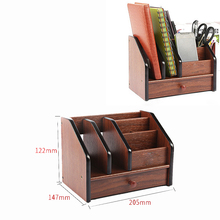 Wood File Office Supplies Desk Organizer Office Accessories Set