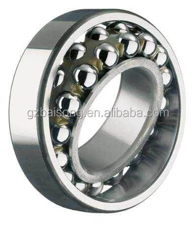 spherical chrome steel self-aligning ball bearing for motocycle engine