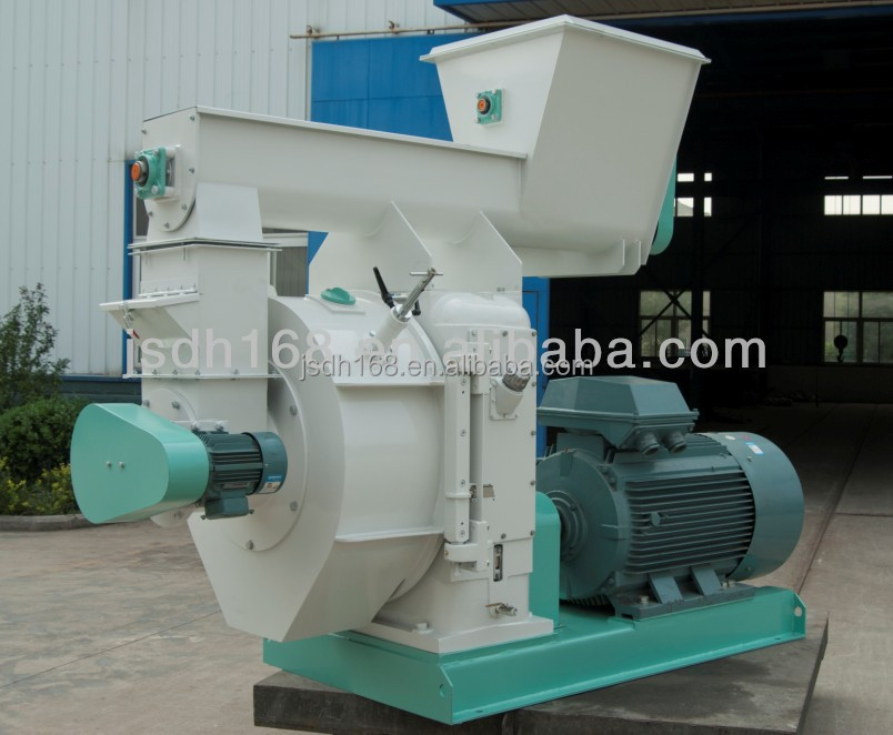 wood pellet fuel making machine with latest technology
