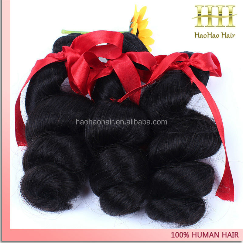 beautiful human hair extension wear in wedding hair accessories