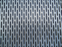 plastic 304 316 aluminum perforated mesh sheets