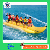 popular inflatable banana boat for kids and adults