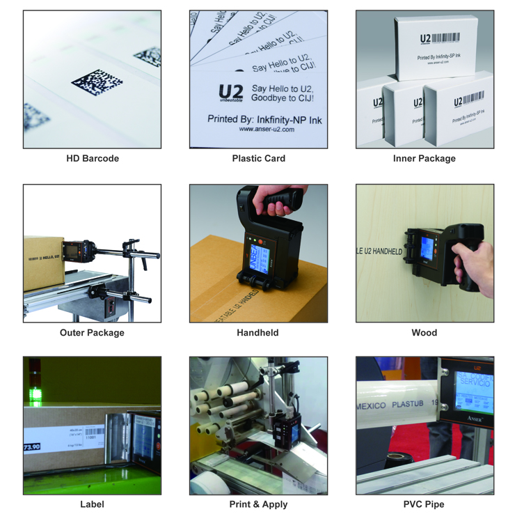 Portable Industrial Marking and Coding Inkjet Printer