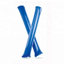 In Stock Promotional Solid Colors Inflatable Cheering Sticks Thunder Noise Maker