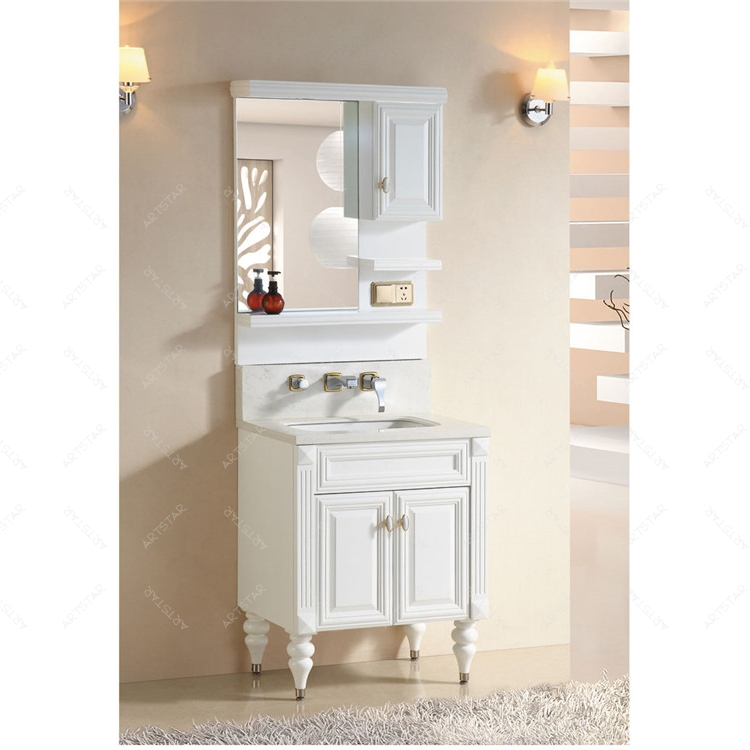 matt white glazed french bathroom vanity cabinet from alibaba to sell