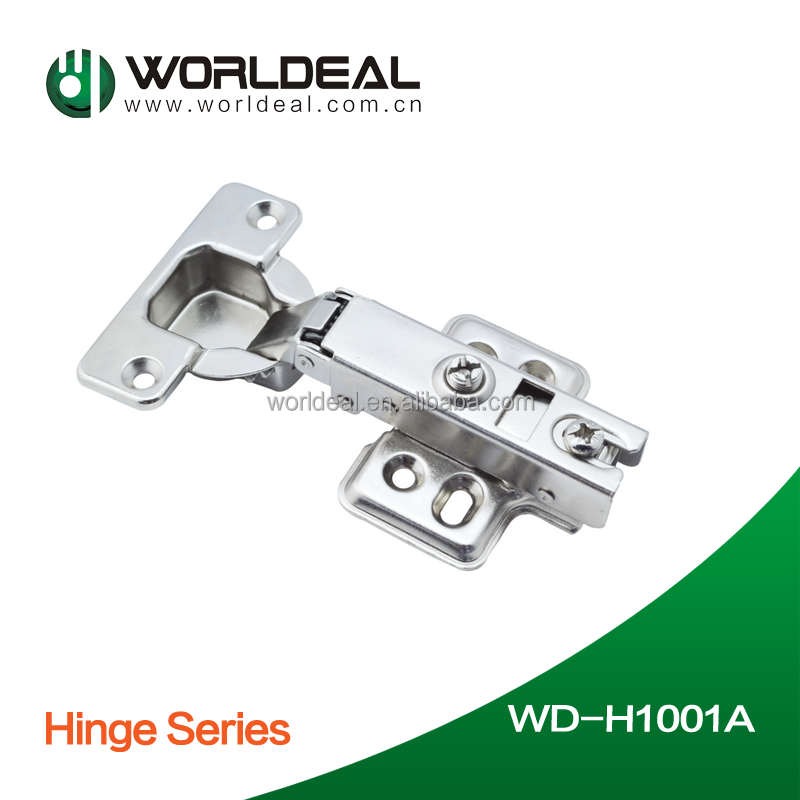 Shanghai Worlddeal Group provide self/soft closing furniture cabinet hinge
