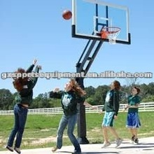 Inground adjustable basketball hoops/stands/system
