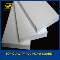 plastic cover foam core sheet/pvc panel
