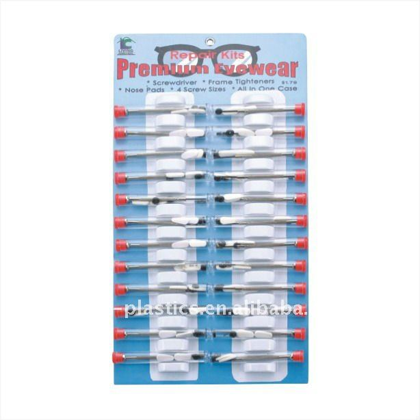 eyeglasses repair kit &tool kit with 24pcs