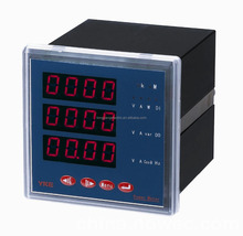 three phase volt/amp/hz/watt/multifunction digital power meter