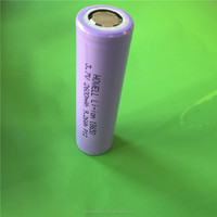 UN38.3 IEC62133 Approved 3.7v cylinder lithium ion battery 18650 26650 14500 18500