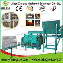 Biomass stamping machine to make wood briquettes pellets 8mm 80mm