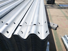 roadway guard rail plate